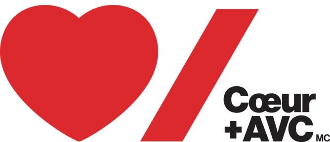 Logo de la Fondation des maladies du cœur et AVC du Canada